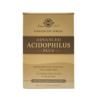Solgar Advanced Acidophilus Plus 60 Caps