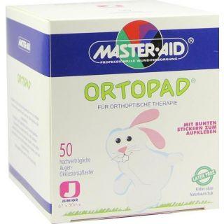 Master Aid Ortopad Junior 67 x 50mm Οφθαλμικό Αυτοκόλλητο για Παιδιά 50 Τεμάχια
