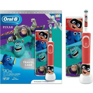 Oral-B Pixar Kids 3+ Special Edition Ηλεκτρική Οδοντόβουρτσα + ΔΩΡΟ Travel Case