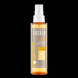 Soskin Sun Oil SPF30 Αντηλιακό Λάδι Υψηλής Προστασίας σε Σπρέι για Πρόσωπο, Σώμα & Μαλλιά 150ml PA+++