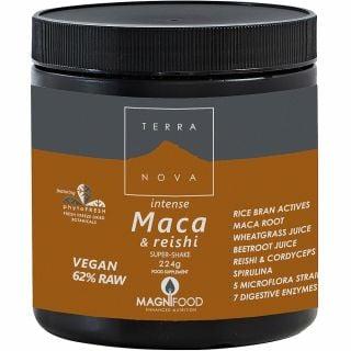Terranova Maca & Reishi Super Shake Magnifood 224gr Ενέργεια - Τόνωση