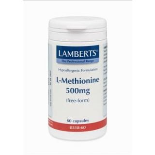 BestPharmacy.gr - Photo of Lamberts L Methionine 500mg 60 Caps