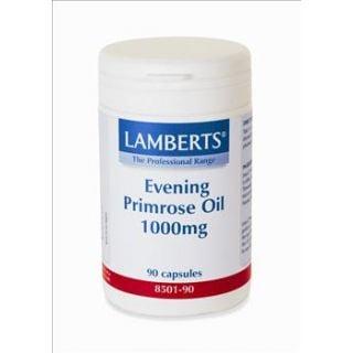 BestPharmacy.gr - Photo of Lamberts Evening Primrose Oil (Ωμέγα 6) 1000mg 90 Caps