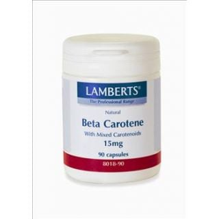 BestPharmacy.gr - Photo of Lamberts Natural Beta Carotene15Mg 90 Caps