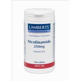 BestPharmacy.gr - Photo of Lamberts Nicotinamide 250mg 100 Tabs