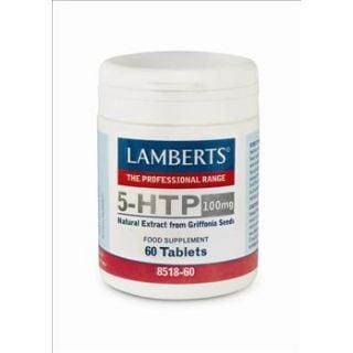 BestPharmacy.gr - Photo of Lamberts 5-HTP 100mg 60 Tabs