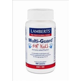 BestPharmacy.gr - Photo of Lamberts Multi Guard For Kids 100 Tabs