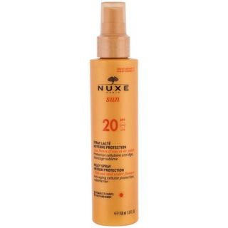 Nuxe Sun Spray Lacte Visage et Corps Moyenne Protection SPF20 150ml Αντιηλιακό Προσώπου και Σώματος