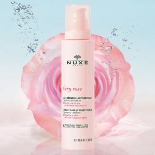 Nuxe Very Rose Creamy Make-up Remover Milk 200ml Κρεμώδες Γαλάκτωμα Ντεμακιγιάζ