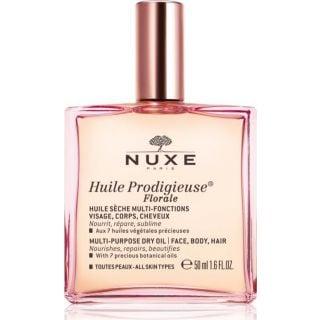 Nuxe Huile Prodigieuse Florale 50ml Ξηρό Λάδι για Πρόσωπο-Σώμα-Μαλλιά με Λουλουδένιο Άρωμα