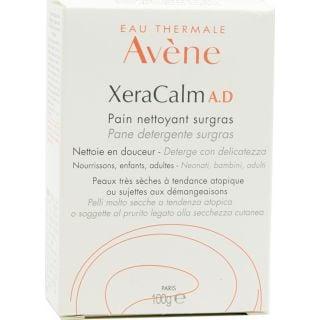 Avene Xeracalm A.D. Pain Nettoyant Surgras 100gr Υπερλιπαντική Στερεά Πλάκα Σαπουνιού