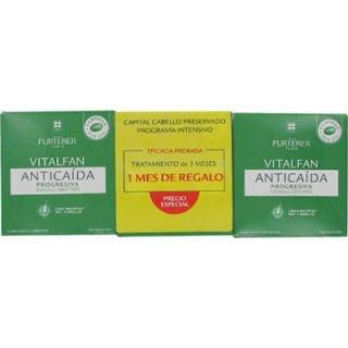 Rene Furterer Vitalfan Συμπλήρωμα Διατροφής για την Αντιδραστική Τριχόπτωση 3x30κάψουλες (2+1 μήνας δώρο)