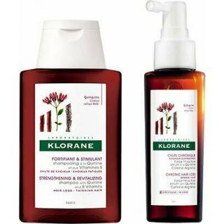Klorane Force Tri-Active Serum 100ml Τονωτικός Ορός κατά της Τριχόπτωσης + Δώρο Shampooing a la Quinine et aux Vitamines B 100ml Δυναμωτικό Σαμπουάν με Κινίνη