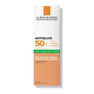 La Roche Posay Anthelios Anti-Shine Tinted Dry Touch Gel Cream SPF50+ 50ml