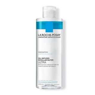 La Roche Posay Oil-Infused Micellar Water Ultra 400ml Καθαρισμός για το Πρόσωπο και Μάτια