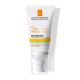 La Roche Posay Anthelios Pigmentation Cream SPF50+ 50ml Αντιηλιακή Κρέμα Προσώπου με Χρώμα για τις Πανάδες