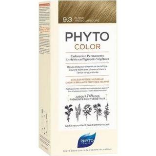 Phyto Phytocolor Μόνιμη Βαφή No9.3 Ξανθό Πολύ Ανοιχτό Χρυσό 50ml