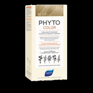 Phyto Phytocolor Μόνιμη Βαφή No10 Κατάξανθο Πλατινέ 50ml