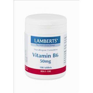 BestPharmacy.gr - Photo of Lamberts B 6 50mg 100 Tabs