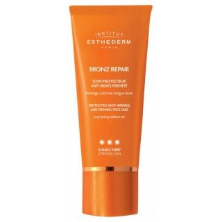 Institut Esthederm Bronz Repair Protective Anti-Wrinkle and Firming Face Care Strong Sun 50ml Αντηλιακή Κρέμα Προσώπου με Αντιρυτιδική και Συσφικτική Δράση για Προστασία από την Υψηλή Ηλιακή Ακτινοβολία