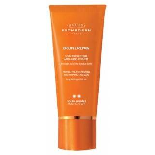 Institut Esthederm Bronz Repair Protective Anti-Wrinkle and Firming Face Care Moderate Sun 50ml Αντηλιακή Κρέμα Προσώπου με Αντιρυτιδική και Συσφικτική Δράση