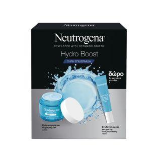 Neutrogena Promo Hydro Boost Gel Cream Για Ξηρές Επιδερμίδες 50ml & Ενυδατική Κρέμα Ματιών 15ml