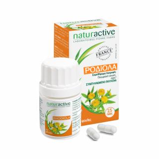 Naturactive Ροδιόλα 30 Caps Συμπλήρωμα διατροφής για Πνευαμτική τόνωση και το Στρες