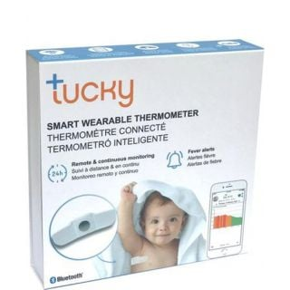 Tucky Φορετό Θερμόμετρο Μασχάλης για Ασφαλή & Συνεχή Παρακολούθηση 1τεμάχιο