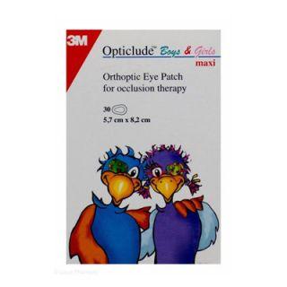 3M Opticlude Boys & Girls Maxi 5.7cm x 8.2cm