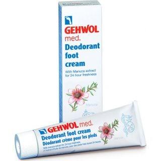Gehwol Med Deodorant Foot Cream Αποσμητική Κρέμα Ποδιών 125ml