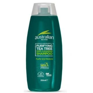 Optima Australian Organic Tea Tree Deep Cleansing Shampoo 250ml Σαμπουάν με Έλαιο Τεϊόδεντρου
