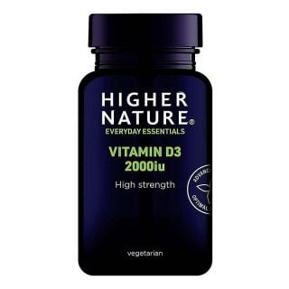 Higher Nature Vitamin D3 2000iu 60 Caps Βιταμίνη D3