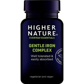 Higher Nature Gentle Iron Complex 60 κάψουλες