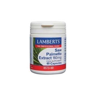 Lamberts Saw Palmetto Extract 160 mg Συμπλήρωμα Διατροφής για την Αντιμετώπιση Καλοήθους Υπερπλασίας του Προστάτη