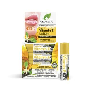 Dr. Organic Vitamin E Lip Balm 5.7ml Ενυδατικό Χειλιών με Βιταμίνη E