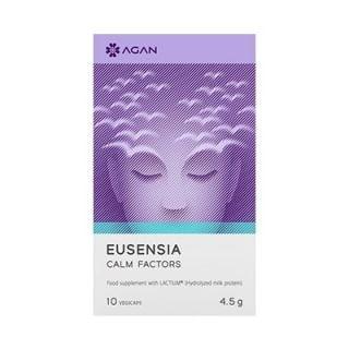 Agan Eusensia Calm Factors 10 Vegicaps Συμπλήρωμα Διατροφής για την Καλύτερη Διαχείριση Καταστάσεων Άγχους