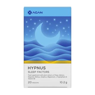Agan Hypnus Sleep Factors 20 Vegicaps Συμπλήρωμα Διατροφής για Βελτίωση της Ποιότητας του Ύπνου