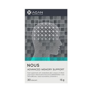 Agan Nous Advanced Memory Support 30Caps Συμπλήρωμα Διατροφής για την Ενίσχυση της Μνήμης