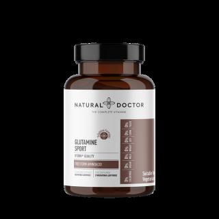 Natural Doctor Glutamine Sport Συμπλήρωμα Διατροφής με Γλουταμίνη 120 Φυτικές Κάψουλες