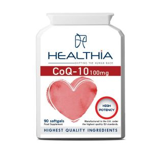 Healthia CoQ-10 100mg 90κάψουλες