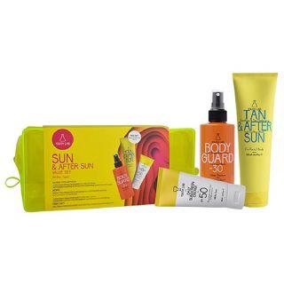 Youth Lab Sun & After Sun Value Set Αντηλιακό Προσώπου για όλους τους τύπους δέρματος SPF50 50ml, Αντηλιακό Σώματος SPF30 200ml & Δώρο Tan & After Sun 150ml