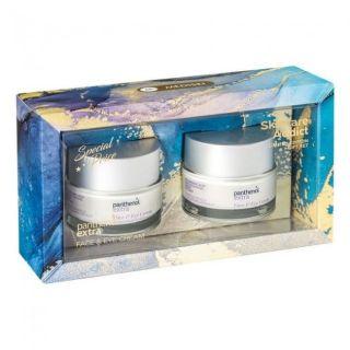 Panthenol Extra Skincare Addict Face and Eye Cream 2 x 50ml Αντιρυτιδική Κρέμα για Πρόσωπο και Μάτια