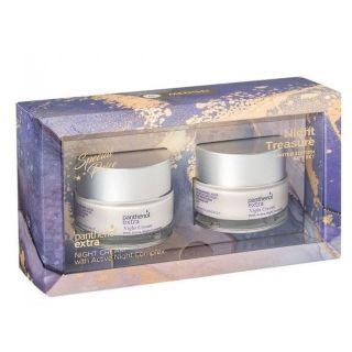 Panthenol Extra Night Treasure Night Cream 2 x 50ml Αντιρυτιδική Κρέμα Νύχτας