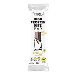 Power Health Power Of Nature High Protein Diet Bar 60gr Γεύση Μπανάνα