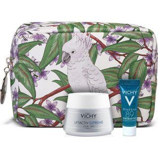 Vichy Liftactiv Supreme Αντιρυτιδική - Συσφικτική Κρέμα για Ξηρές Επιδερμίδες 50ml & Mineral 89 Probiotic Booster Ανάπλασης & Επανόρθωσης 5ml