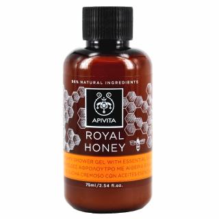 Apivita Mini Royal Honey Shower Gel With Essential Oils 75ml