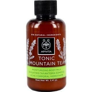 Apivita Mini Tonic Mountain Tea 75ml Ενυδατικό Γαλάκτωμα