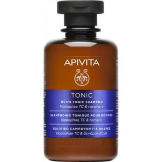 Apivita Mini Men's Tonic Shampoo for Thinning Hair with Hippophae TC & Rosemary 75ml