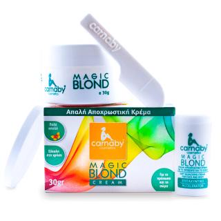 Carnaby Magic Blond Cream 30gr Απαλή Αποχρωστική Κρέμα