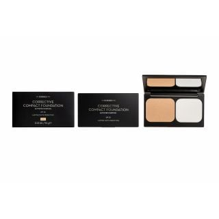Korres Corrective Compact Foundation ACCF1 9.5gr Διορθωτικό Compact Make-Up με Ενεργό Άνθρακα